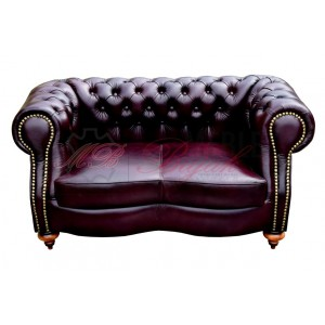 Sofa dwu-osobowa Chesterfield Milton