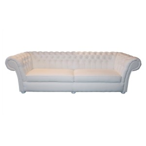 Zestaw 4+3+1 Chesterfield Flat White
