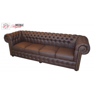 Sofa czteroosobowa Chesterfield Classic