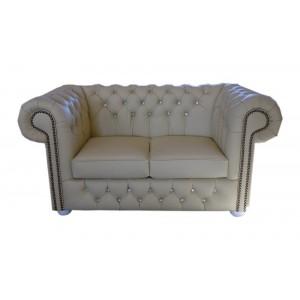 Sofa dwu-osobowa Chesterfield Classic Botones