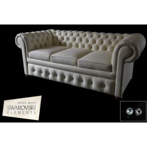 Sofa trzy-osobowa Chesterfield Classic