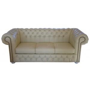 Sofa trzy-osobowa Chesterfield Classic Duo Botones