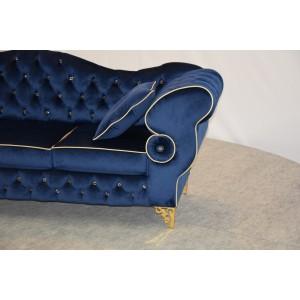Sofa trzyosobowa CHESTERFIELD PRESTON Gold Edition
